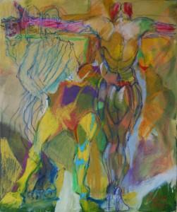 aktgemaelde-aktmalerei-oelfarbe-leinwand-gelb-gruen-60x50cm-294