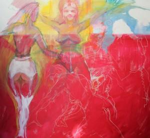 aktgemaelde-rot-weisse-strapse-oelfarbe-auf-leinwand-130x140cm-620