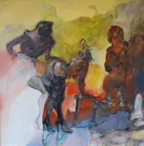 aktmalerei-aktgemaelde-frau-mit-schwarzen-strapsen-und-high-heels-vorgebeugt-titel-lust-quadratisch-80x80cm-26089