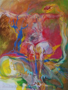 aktmalerei-aktgemaelde-oelfarbe-leinwand-bunte-farbe-schlange-60x80cm-4058043