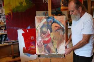 aktmalerei-aktgemaelde-oelfarbe-leinwand-frau-mit-blauem-kopf-braeunliche-farben-65x50cm-groessenansicht-187