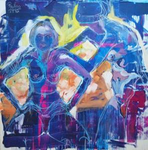 aktmalerei-aktgemaelde-oelfarbe-leinwand-zwei-frauen-hauptsechlich-blaue-farben-110x110cm-380