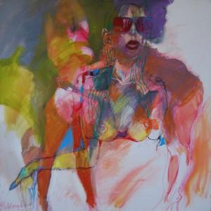 aktmalerei-dezentes-aktgemaelde-oelfarbe-leinwand-frau-mit-sonnenbrille-quadratisch-60x60cm-66230