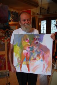 aktmalerei-dezentes-aktgemaelde-oelfarbe-leinwand-frau-mit-sonnenbrille-quadratisch-60x60cm-groessenansicht-66230