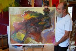 aktmalerei-gemaelde-oelfarbe-frau-sitzend-mit-grossen-ohrringen-100x80cm-groessenansicht-55555