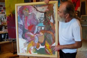 aktmalerei-gemaelde-oelfarbe-frau-steckt-sich-finger-in-mund-90x70cm-groessenansicht-62909