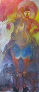 aussergewoehnliches-tiergemaelde-pferd-mit-strapse-oelfarbe-180x80cm-36514991