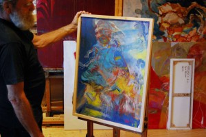 blaues-figuratives-oelgemaelde-70x50cm-groessenansicht-591