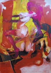 das-gefuehl-aktmalerei-oelgemaelde-roetliche-farben-und-gelb-140x100cm-574