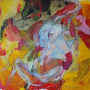 gemaelde-aktmalerei-oelfarbe-gelb-weiss-rot-frauen-po-titel-portrait-de-damens-70x70cm-426