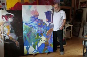 gemaelde-pferde-blau-oelfarbe-auf-leinen-groessenansicht-165x100cm-617