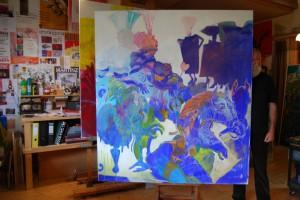 gemaelde-pferde-blau-oelfarbe-auf-leinen-groessenansicht-180x160cm-6171