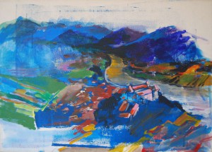 landschaftsgemaelde-landschaftsmalerei-grein-oberoesterreich-acrylgemaelde-50x70cm-0230571