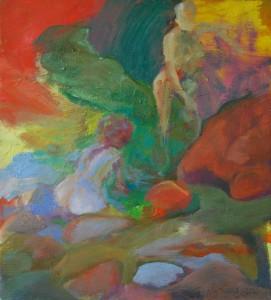 landschaftsmalerei-mit-frauen-oelgemaelde-50x45cm-titel-30-grad-18000