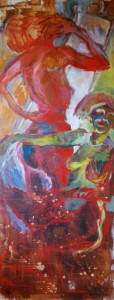 roter-akt-oelfarbe-zwei-frauen-hochformat-190x75cm-54461141
